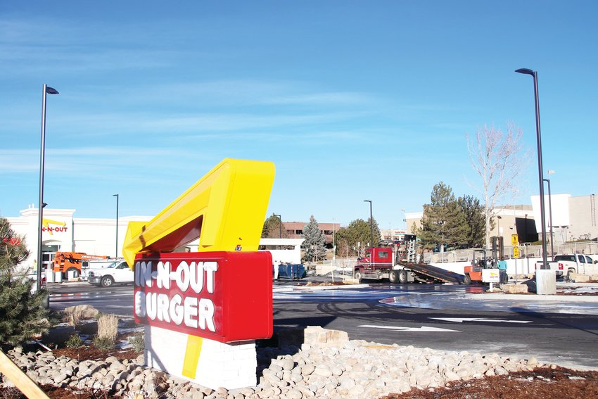 The Lone Tree In-N-Out location, expected to open early next year at 9170 Westview Road, will have the second-busiest drive-thru of any In-N-Out location.