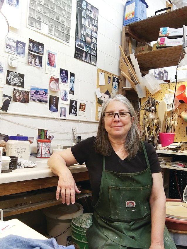 Shelley Schreiber teaches ceramics at the Art Students League of Denver, 200 Grant St.