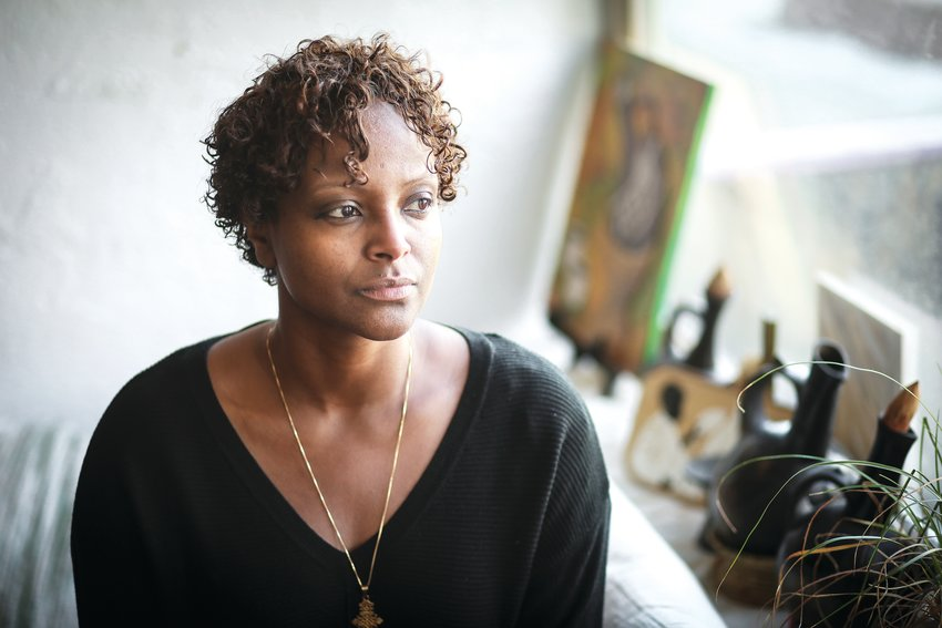Millete Birhanemaskel, 39, of Denver, moved to the United States from Ethiopia in 1982 and owns the Whittier Cafe, a business that she said is focused on social justice. She still has family in Ethiopia and is concerned for their well-being and safety as a civil war has broken out in the Tigray region where her family lives.