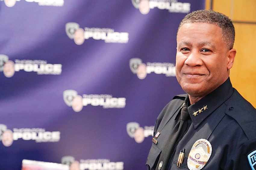 Terrence Gordon, Thornton's new police chief.