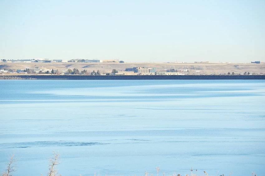 A view of Standley Lake Reservoir on Wednesday morning, Jan. 6.
