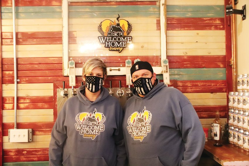 Sharon and Aaron Murphy, owners of Welcome Home Brewery in Parker, are eager to allow for greater seating capacity, and applied for 5-Star certification from Douglas County as soon as the program received verification from the state.