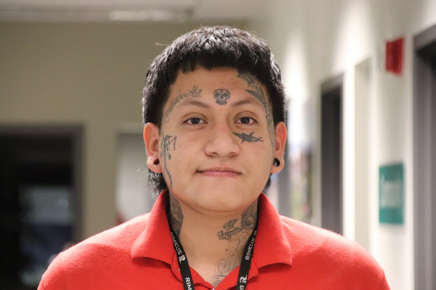 Alex Gonzalez said his face tattoos push some people away -- but also attract people who will understand and accept him.