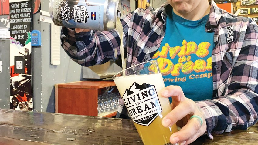 Ten percent of all sales of the new beer from Living the Dream Brewing Company will go toward the Backcountry Conservation & Education Fund.