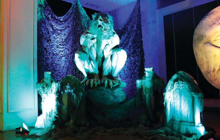 An up-close experience with iconic creatures such as werewolves are aplenty at Distortions Monster World, an immersive artainment experience at the Denver Pavilions on Denver's 16th Street Mall.