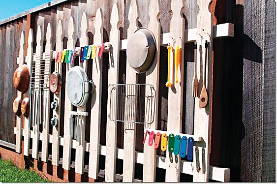 Pictured is an example of a music fence, which is what Safehouse Denver will be installing with its S.E.E.D. funding.