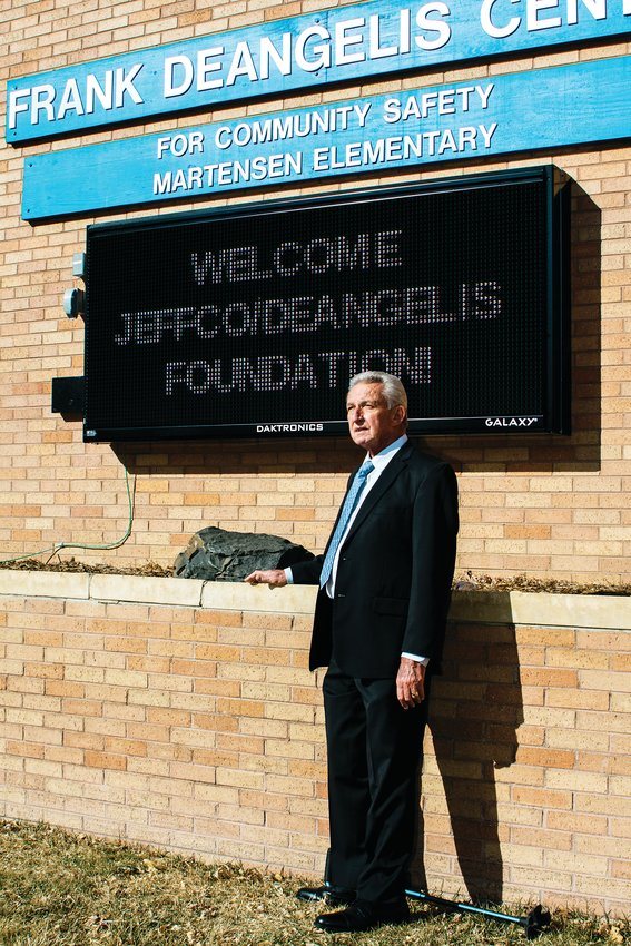 Ron Mitchell stands for a portrait outside the DeAngelis Center in Wheat Ridge.