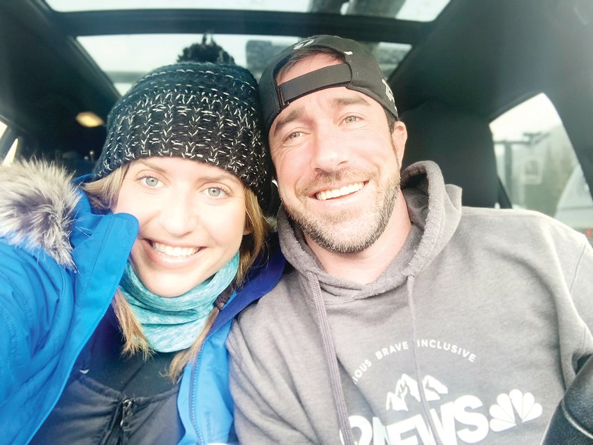 Denver's Blair Nelson and Idaho Springs' Patrick Marlin met virtually in May and had their first in-person date in July after Marlin moved back from North Carolina. The two enjoy hiking and skiing together.