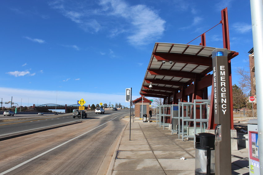 The US 36 and Sheridan station in Westminster, a stop along the Regional Transportation District's Flatiron Flyer bus service that brings commuters from Boulder to Denver and vis-versa. Since 2004, RTD has planned to also construct the Northwest Rail, or B-Line. Questions have arisen about the commuter rail's completion, resulting in a Feb. 9 study session to discuss the subject. The general manager of RTD said her staff would present a plan to the RTD Board of Directors in the next 60 days.