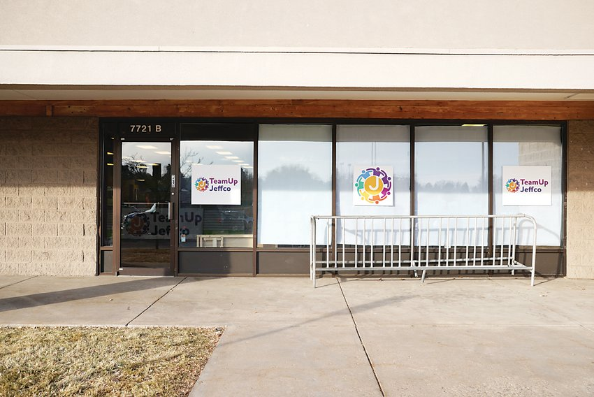 A TeamUp Jeffco location at the Indian Tree shopping center in Arvada.