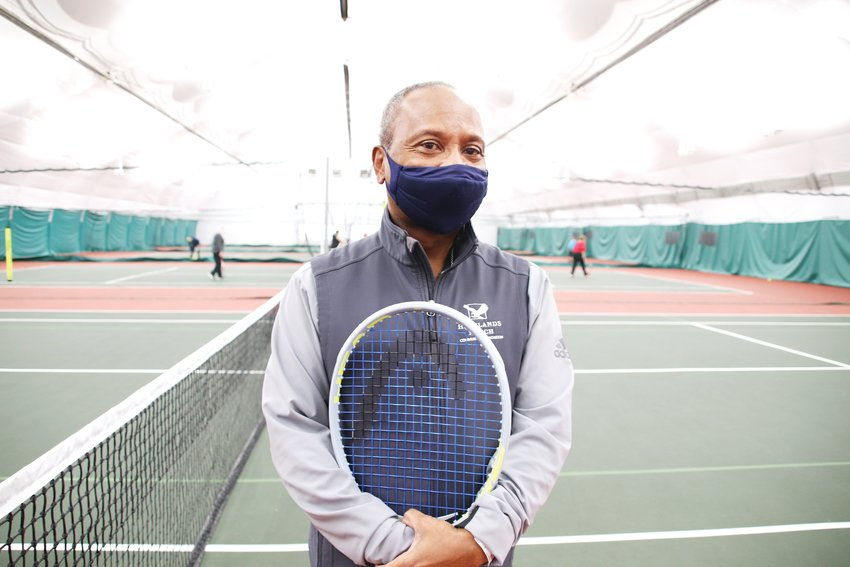 Frank Adams, 63, has focused much of his tennis coaching career on making the sport as inclusive as possible.
