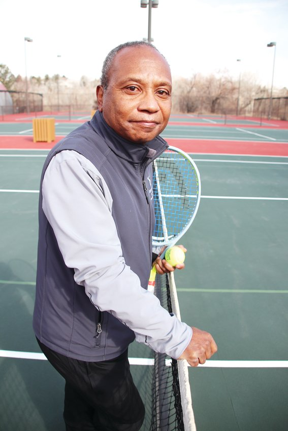 Frank Adams has been the head tennis pro for the Highlands Ranch Community Association for 20 years.