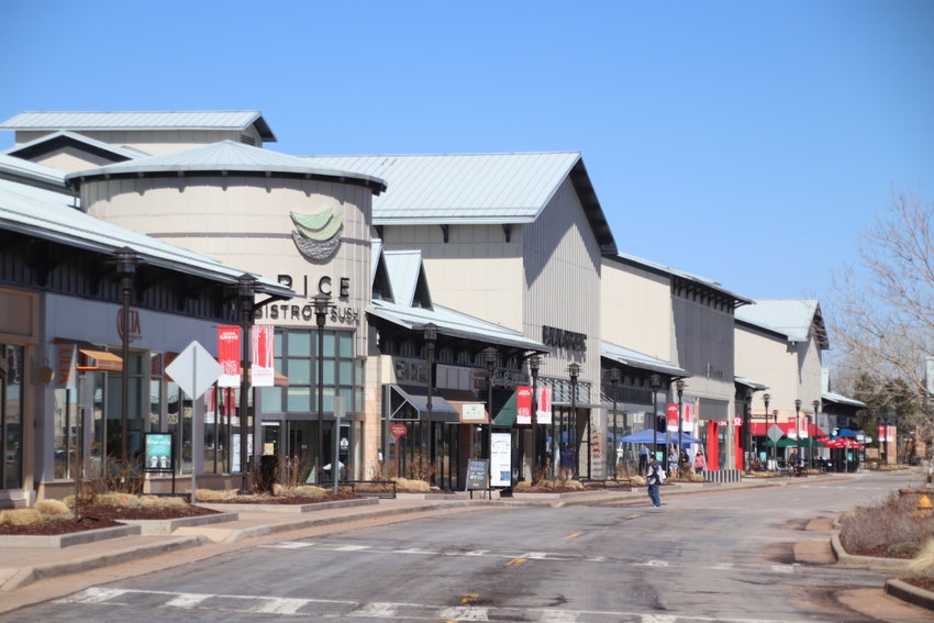 The Aspen Grove shopping center in southwest Littleton could be mostly torn down and rebuilt into a mixed-use complex, city documents show.