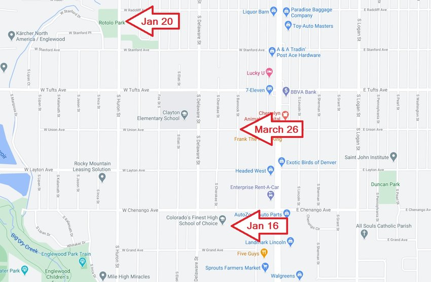 "Englewood Police are asking for the public's help after three ""suspicious devices,"" two of them explosives, were found in a small area of southwest Englewood since the beginning of the year."