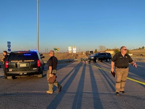 Deputies respond to an officer-involved shooting in Douglas County.
