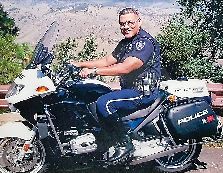 Littleton Police officer Stephen Keliiholokai is retiring after 22 years of service with the department.