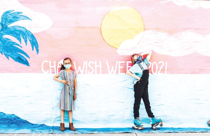 Chaparral High School's featured wish kids included Emma, left, for 2021 and Chelsea, for 2020. Make-A-Wish does not release wish kids' last names, according to a spokesperson.