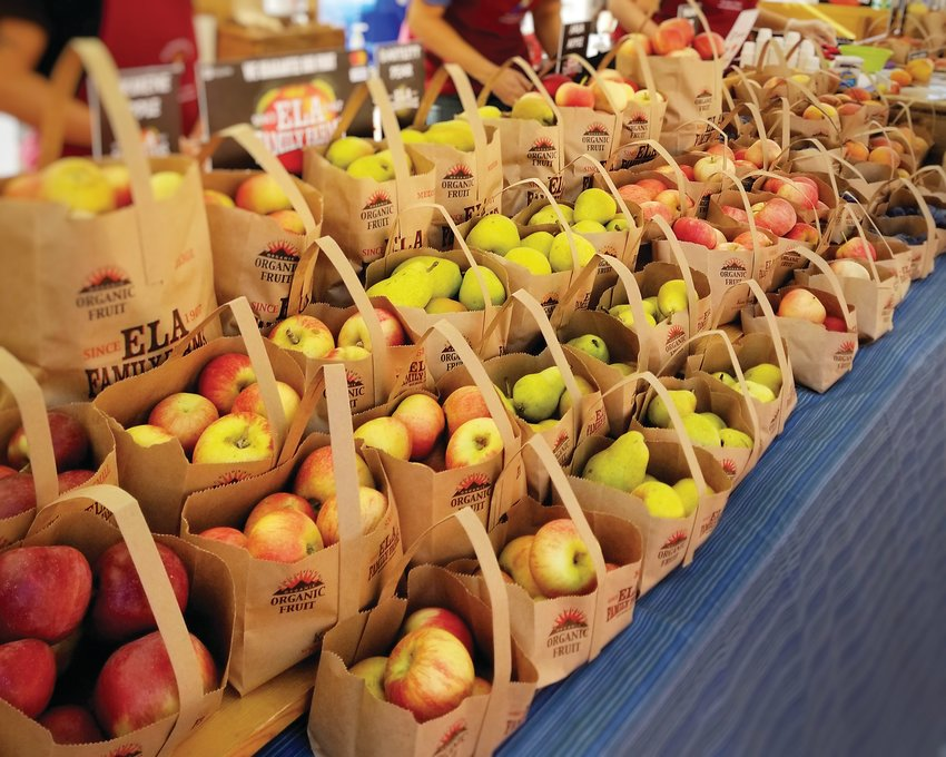 Along with many other harvestable fruits, Ela Family Farms grows about 32 varieties of apples, which they will be bringing to farmers markets near the end of August, roughly. Ela Family Farms will be at a number of farmers markets this year, but the ones in Denver are the City Park Farmers Market, South Pearl Street Farmers Market and the Central Park Farmers Market.