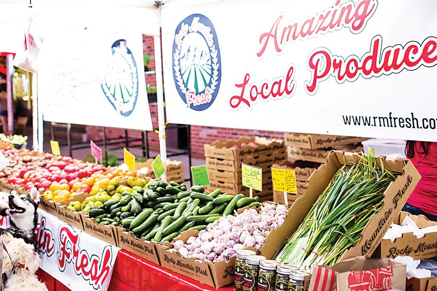 Farmers markets offer a wide variety of Colorado-grown, fresh produce from local vendors such as Longmont's Rocky Mountain Fresh which will be a vendor at this year's South Pearl Street Farmers Market.