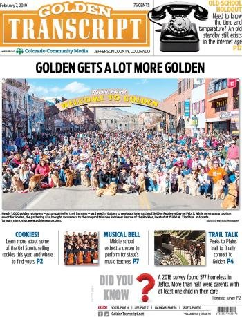 Your source for local news in Golden, Colorado | Goldentranscript net