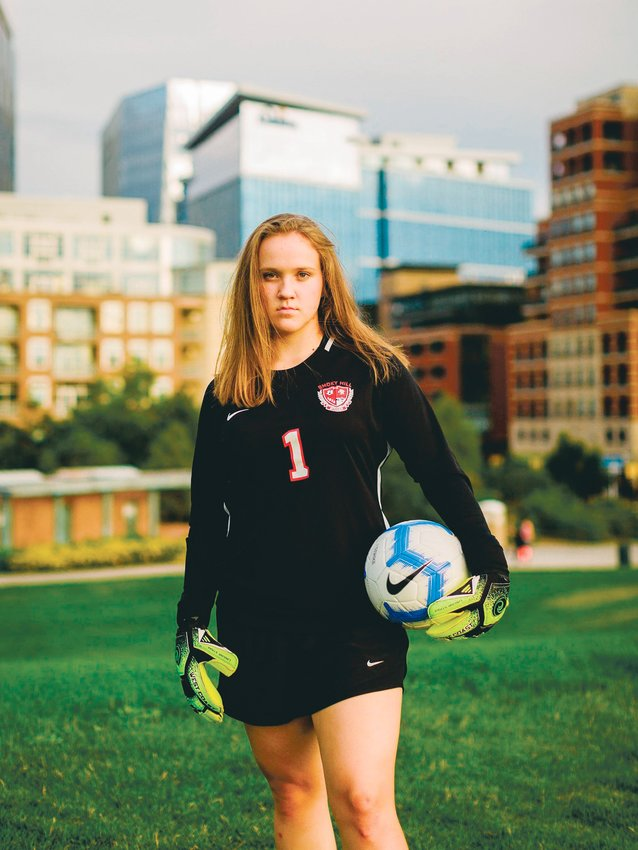 Smoky Hill senior goalkeeper Mackenna Heiden is hoping CHSAA will find a way to recognize seniors who were supposed to play spring sports before the suspension of play.
