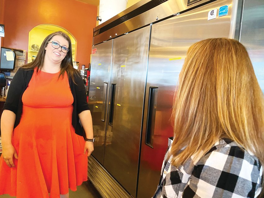 April Arellano, owner of C&C Coffee and Kitchen, decided to reopen her doors May 10 against public health orders because her business was struggling under the no dine-in order.
