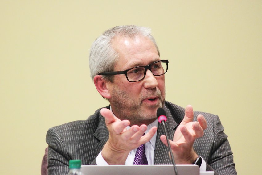 Littleton Public Schools Superintendent Brian Ewert in a May 2019 file photo.