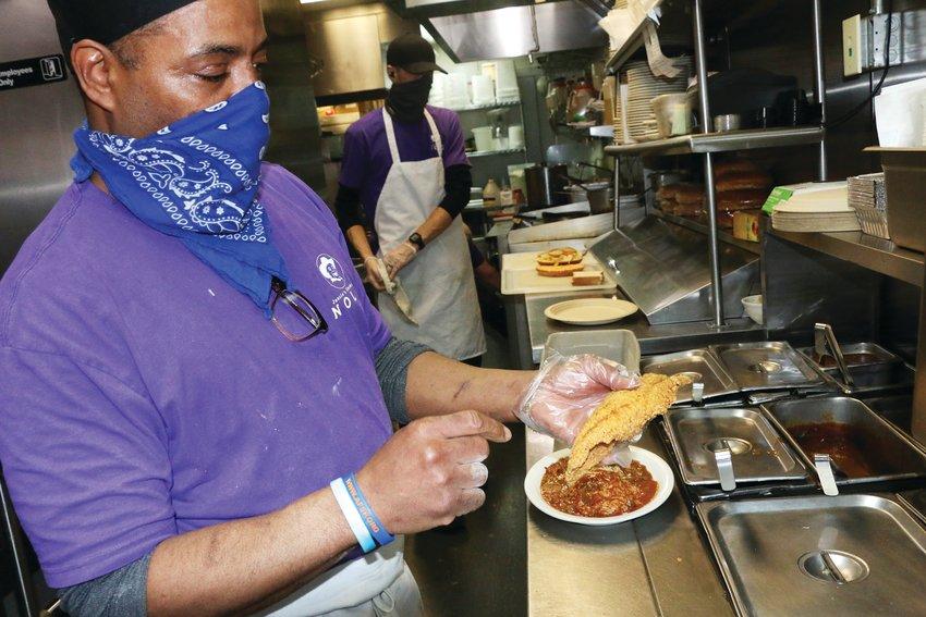 Jessie Rayford of Jessie's Smokin Nola, in Centennial, talks about details in making good Cajun food.