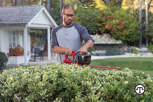 Power equipment makes it easier to have a neat, attractive yard that turns the neighbors green with envy.