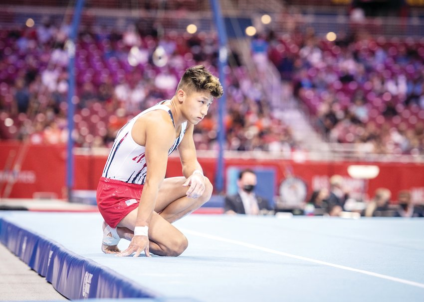 Yul Moldauer will compete at the Olympic games in Tokyo.