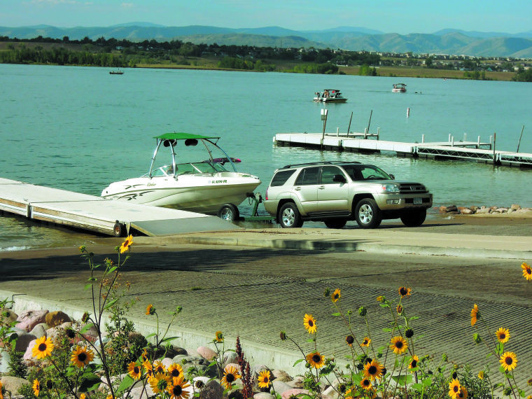 Recreational opportunities offered at standley lake for Standley lake fishing