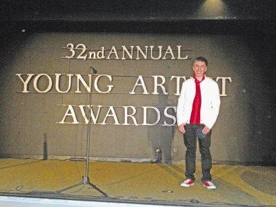Heritage High School senior Brock Ciarlelli won Best Recurring Young Actor in a Television Series at the 2011 Young Artist Awards in Los Angeles. Courtesy photo