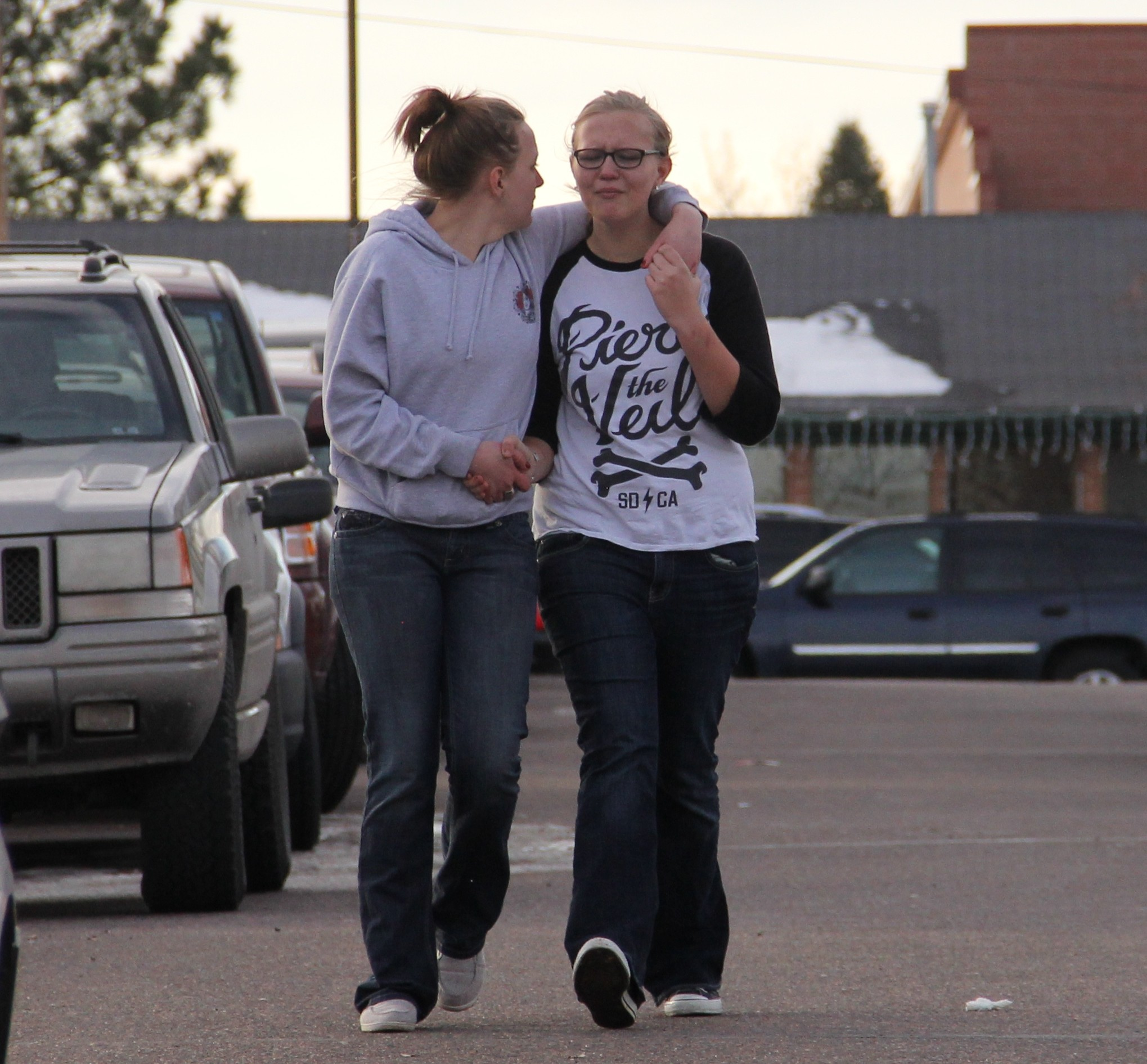 Student Shot, Gunman Dead At Arapahoe High
