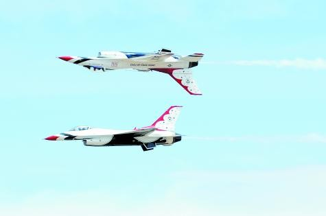The Thunderbirds will perform at the Air Force Academy's May 28, 2014, graduation.