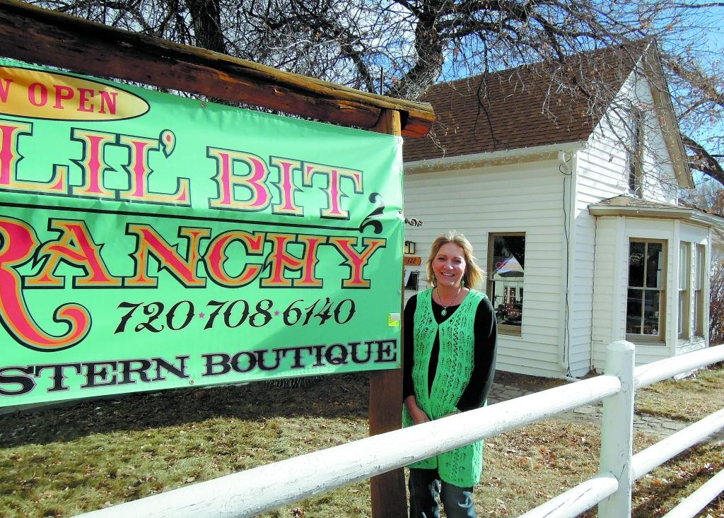 Brenda Moore's new store, Lil' Bit Ranchy, a western-themed boutique located at 322 E. Kiowa Ave., opened on Black Friday. The store carries everything from Western-style clothing to furniture, housewares and jewelry.