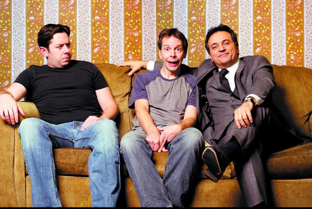 Brothers Treat (Jack Wefso) and Phillip (Christian Mast), left to right, live in Philadelphia and kidnap gangster Harold (Rick Yaconis) in an effort to make some money.