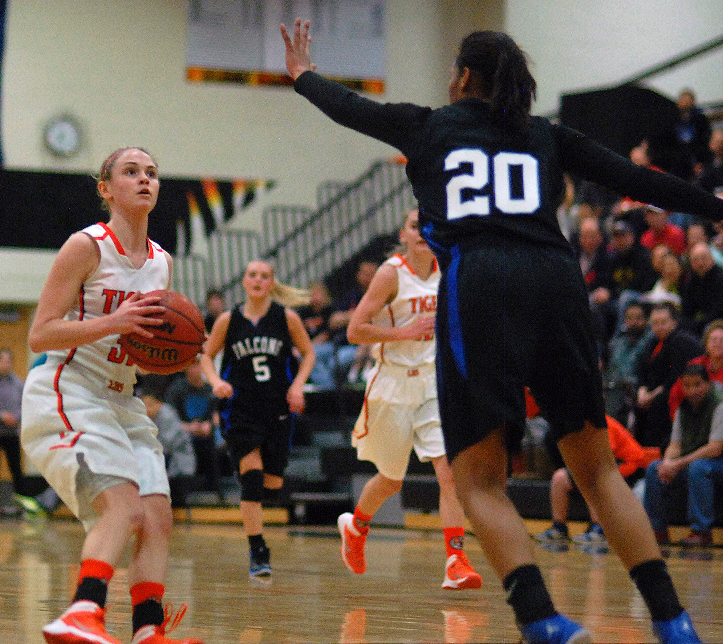Lady Tigers Knock Off 5A Power Highlands Ranch