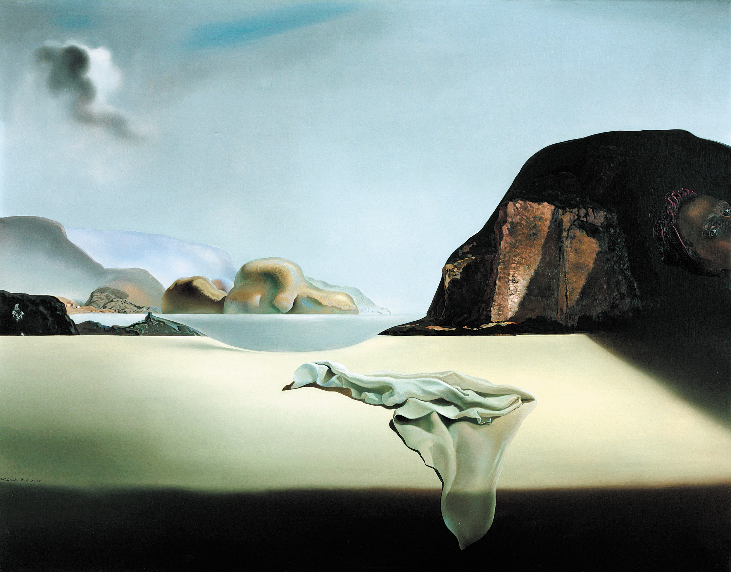 "The Transparent Simulacrum of the Feigned Image"" by Salvador Dali 1938 (Spanish 1904-1989) is a 28-inch by 36-inch oil on canvas I. It will appear in the Modern Masters exhibit at the Denver Art Museum through June 8."