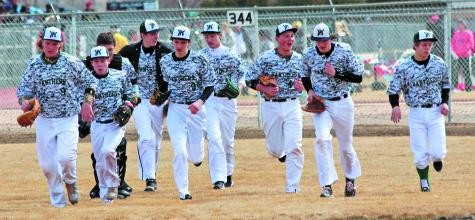 The Woodland Park baseball team returns to action April 1 against Coronado.
