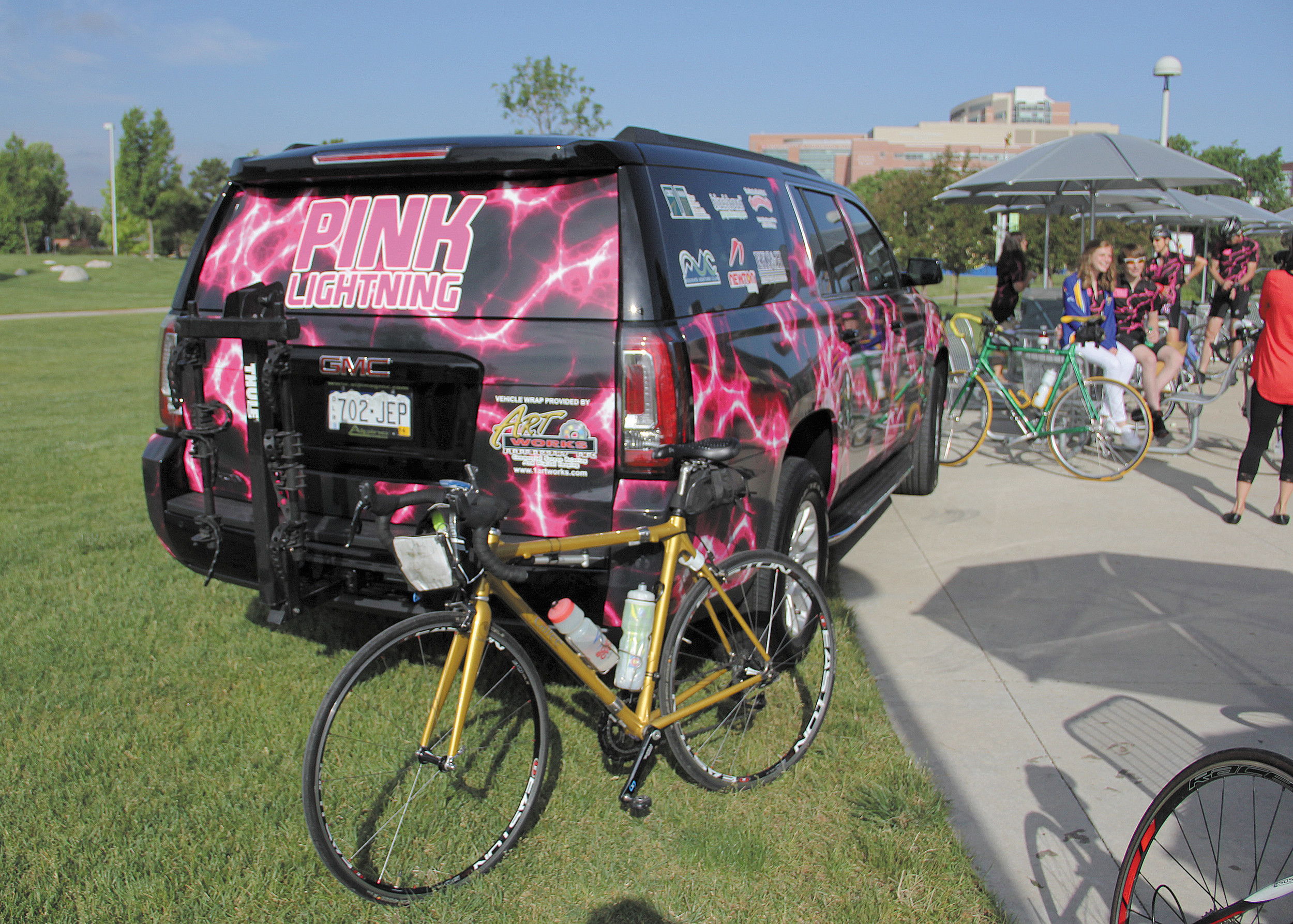 Bryan Warnecke, 15 of Castle Rock, hosted the Pink Lightning Tour to raise money and awareness for cystic fibrosis Saturday June 7.The 29.76 mile ride stretched from Children's Colorado's main campus at the Anschutz Medical Campus in Aurora to Children's Colorado's North Campus in Broomfield.