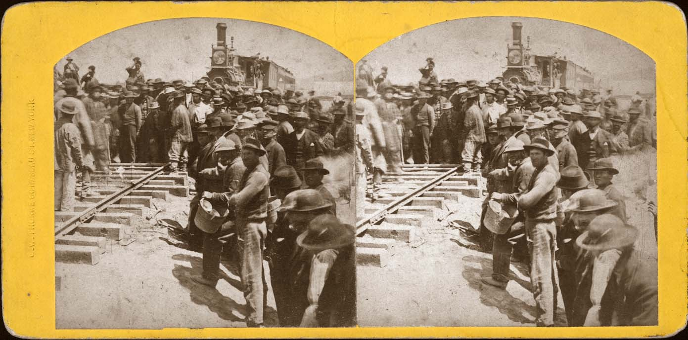Chinese workers on Union Pacific