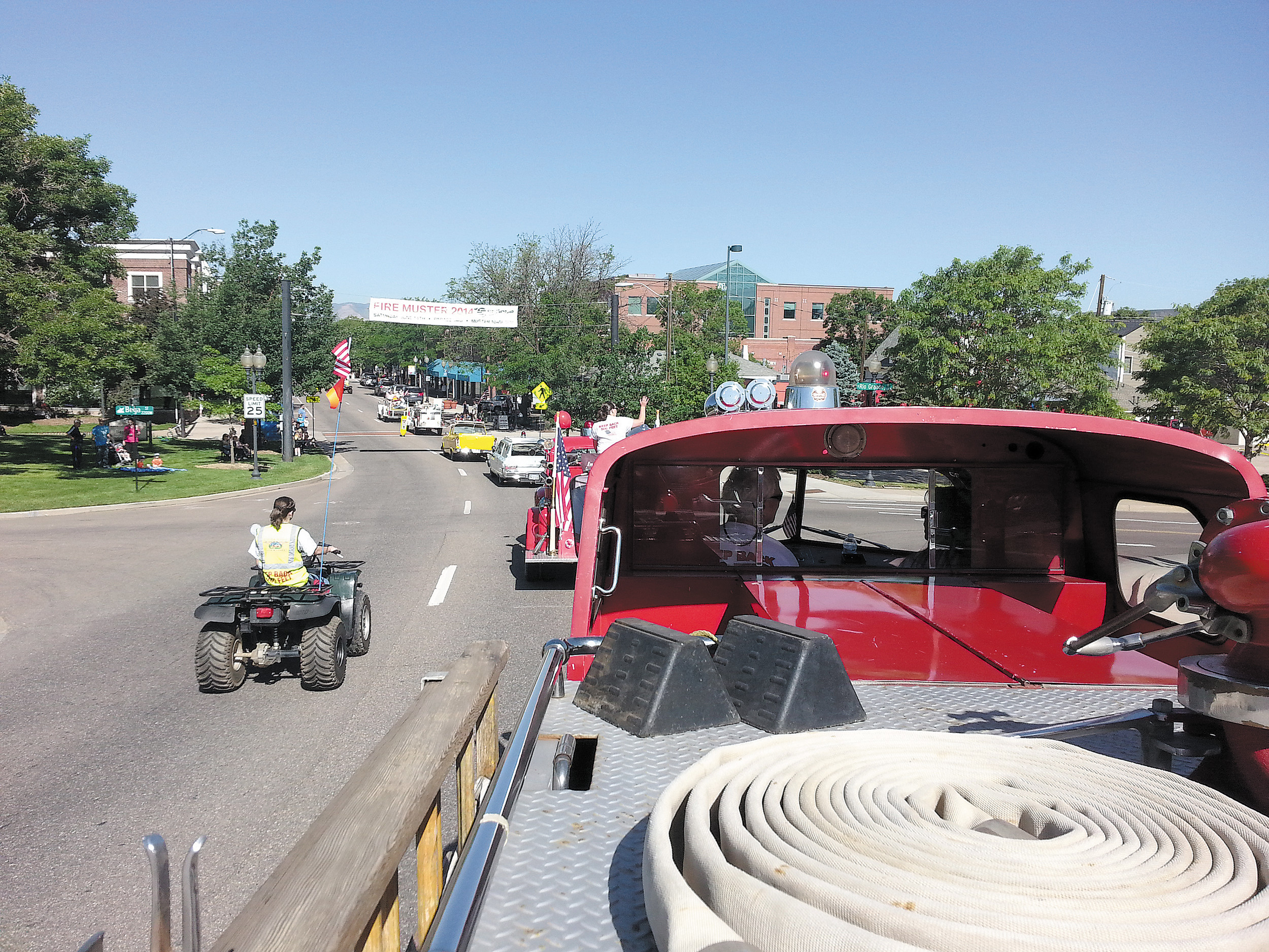 fire muster continues its roll through city littletonindependent net