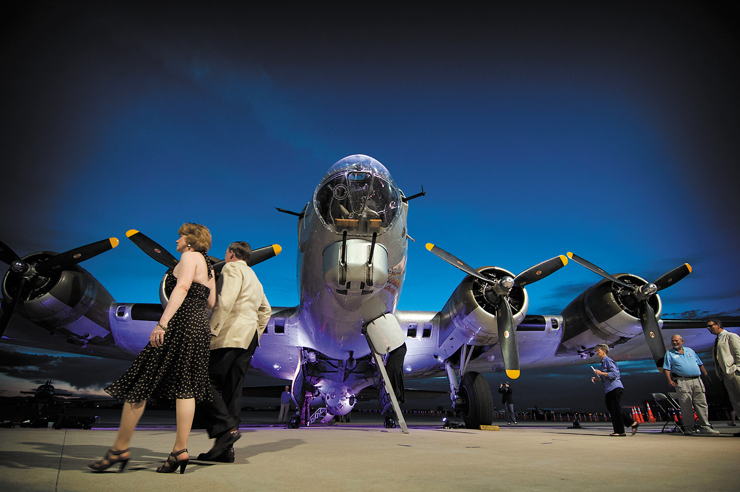 "The ""Aluminum Overcast"" was the guest of honor, again, at The Wings Over the Rockies annual hangar dance. The 1940s-era event pairs some of the area's best foods and wine with a nostalgic World War II feel."