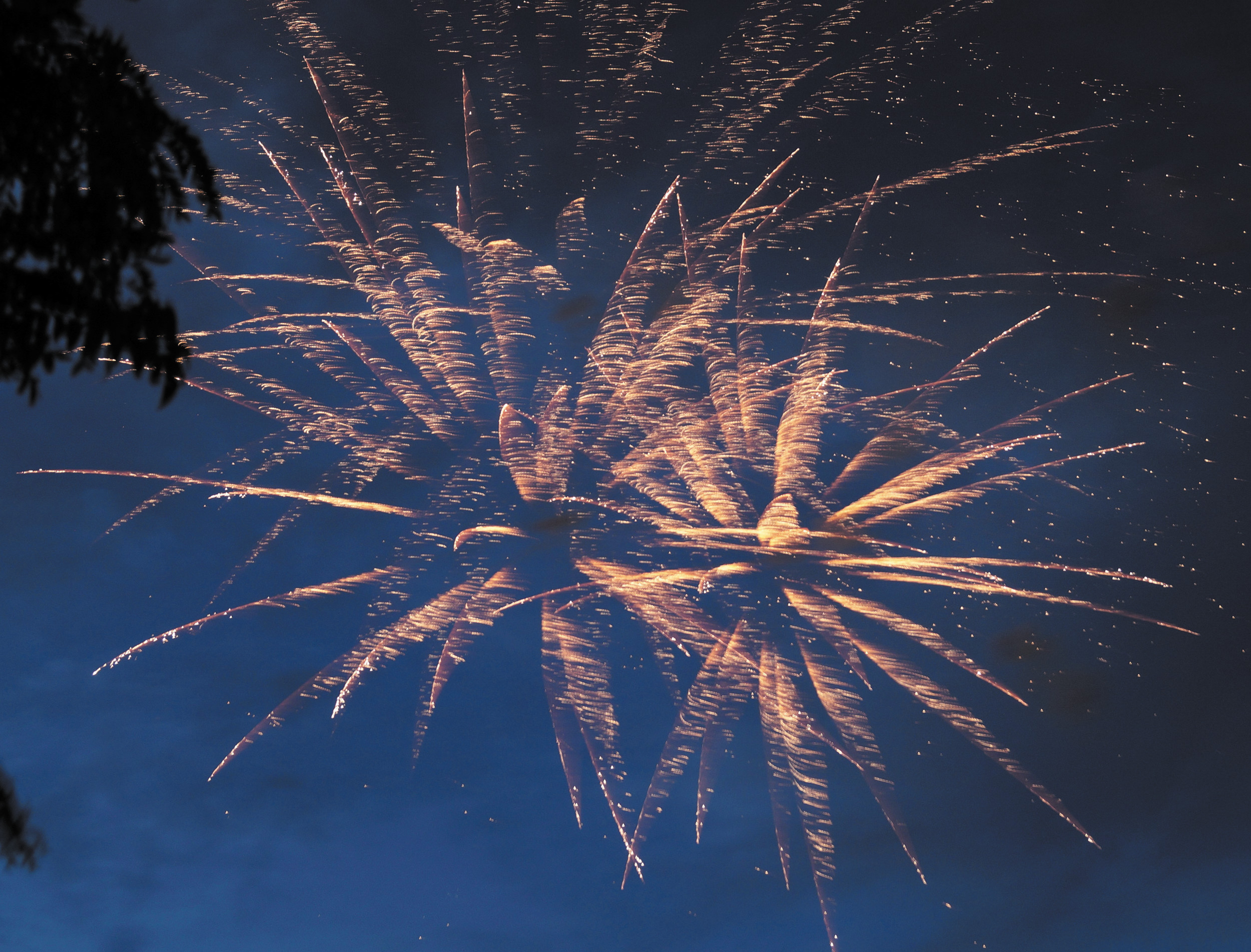 Fireworks filled the night sky above Sweetwater Park in Lone Tree on July 4. In the south metro area, there were plenty of professional fireworks displays like this one, but there were also many complaints of illegal displays in neighborhoods.