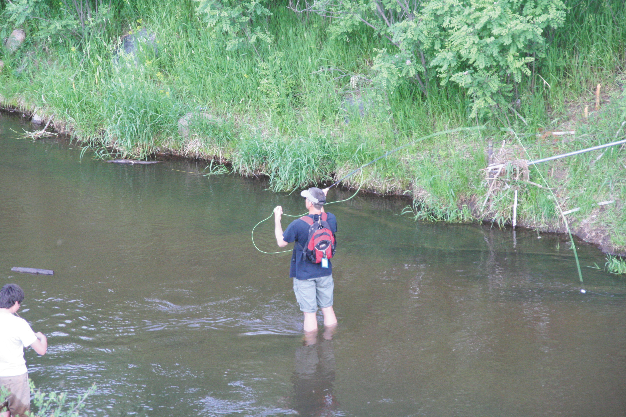 Fly fishing takes a little bit of a different skill set and it also takes different equipment but Colorado has plenty of rivers that are perfect for fly fishing.