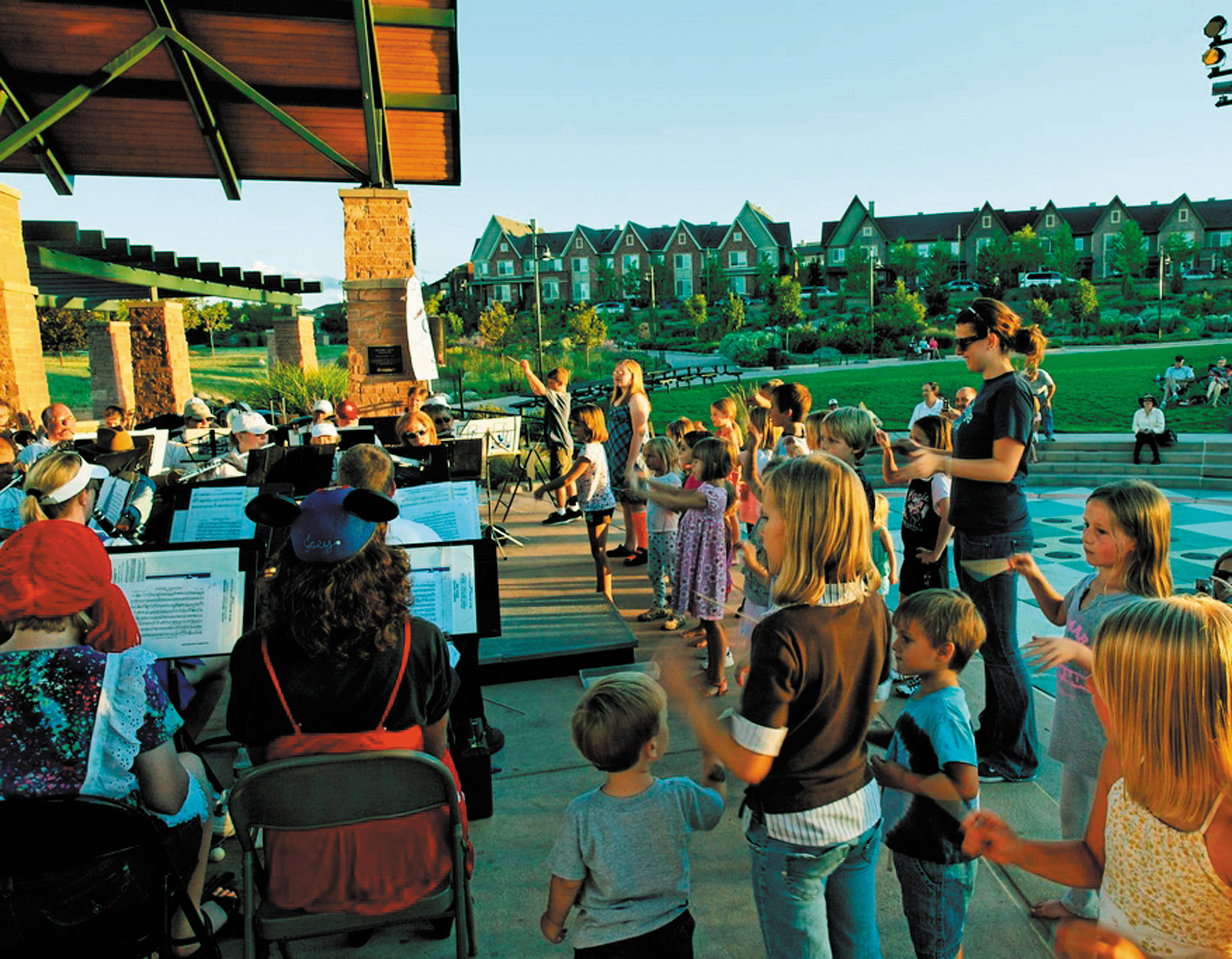 """Playin' in the Park"" is the title for the free Aug. 2 Highlands Ranch Concert Band concert, where kids are invited to come close to see the instruments, dance and perhaps conduct. Courtesy photo"