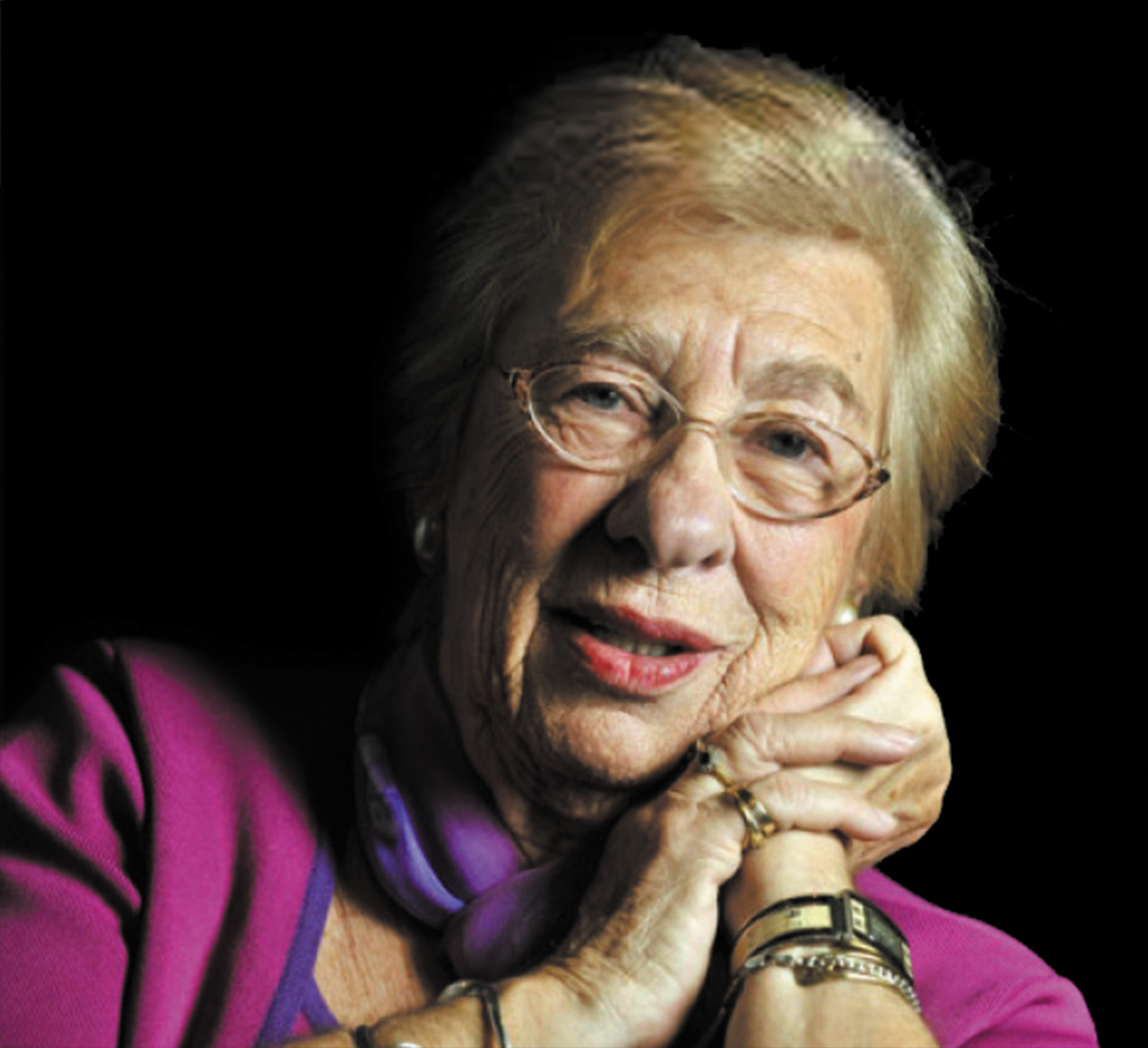 Eva Schloss, stepsister to Anne Frank, is traveling around the globe, sharing the story of her experience during the Holocaust.