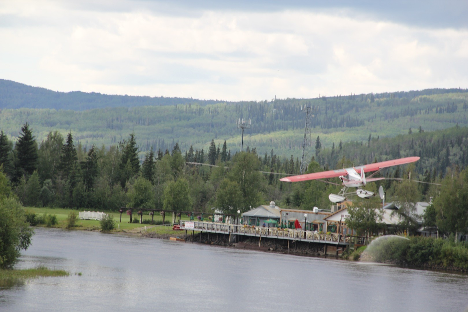 Plane, dogsled, and sternwheelers or other boats on the river, were the main methods of getting equipment to the mines, as there were not many roads.
