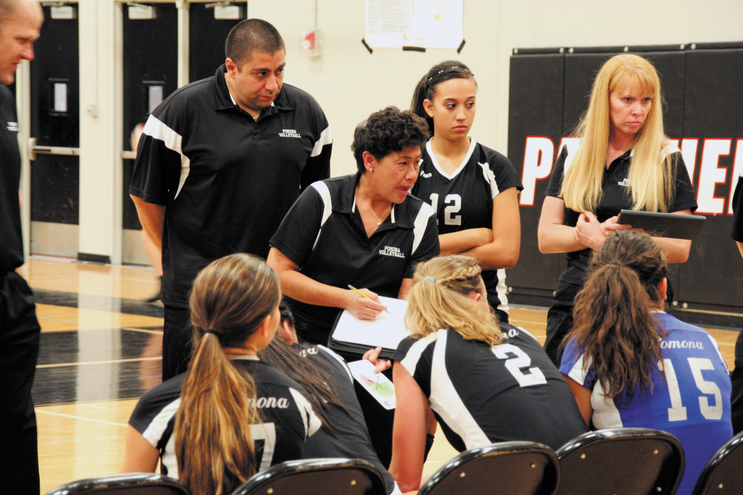 Pomona volleyball has always been a tough out and tight knit group led by head coach Leilani Luke. But seeing how the Panthers only lost one senior to graduation this could be the year that Pomona climbs to the top of the 5A Jeffco standings.