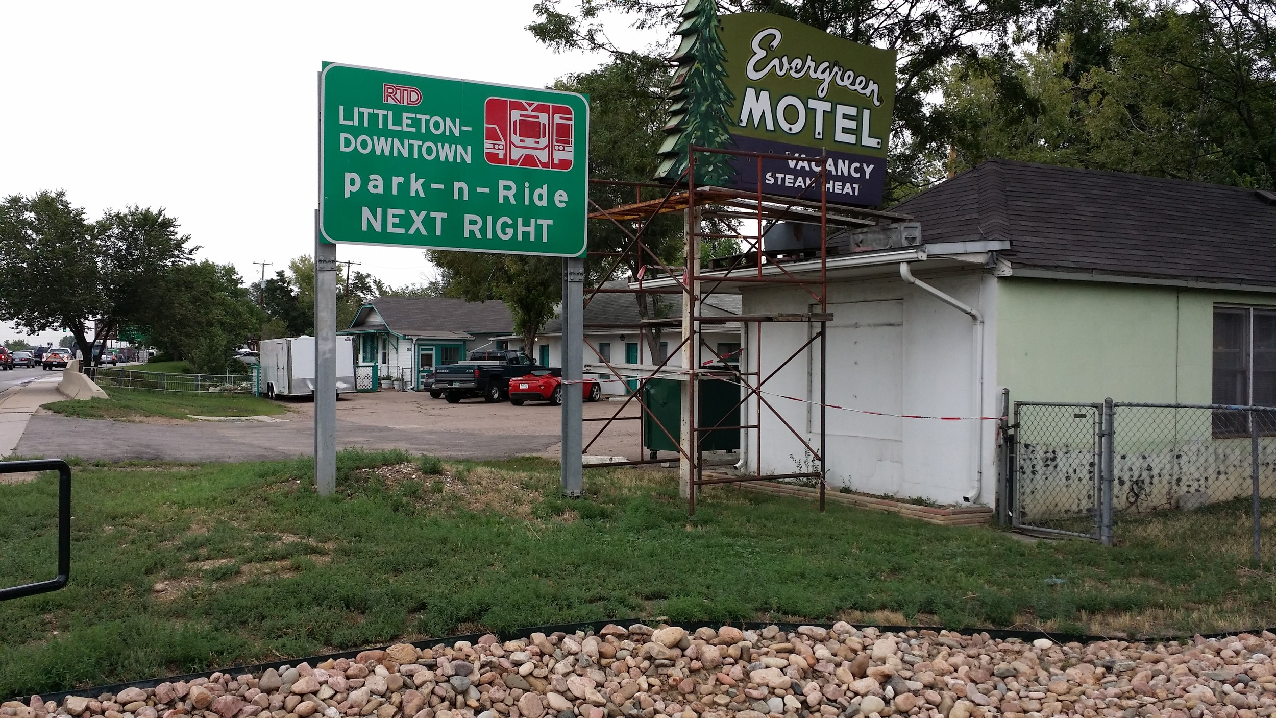 Littleton's urban-renewal authority declined the Evergreen Motel owner's request to remove the property from the area being studied for possible redevelopment. Photo by Jennifer Smith